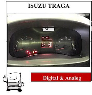 isuzu traga dashboard